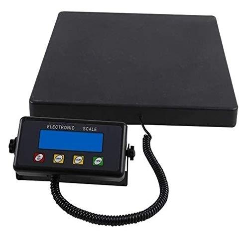 300 kg / 100 kg balanza digital electrónica, Paquete balanza de precisión plataforma de pesaje escala for Industrial Comercial Tienda plataforma de la báscula (300 kg / 100 g) de almacenamiento compac