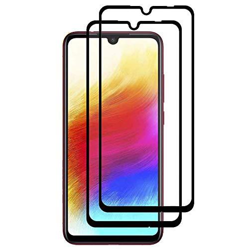iGlobalmarket [2 Unidades] Protector de Pantalla 9D Xiaomi Redmi Note 7 /...