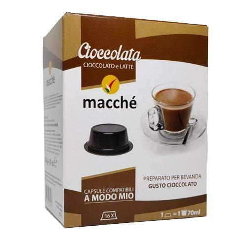 80 Capsule Compatibili A Modo Mio Macche' Cioccolata