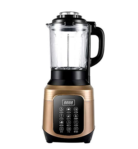 JXWWNZ Blender 2000 watt glas roestvrij staal | smoothie maker | mixer | universeel power mixer | 2,0 L | 6-voudig metalen mes | hakmolen | ijs crusher.