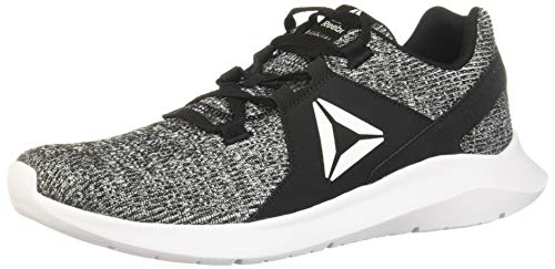 Reebok Energylux, Zapatillas de Running Hombre, Multicolor (Negro/Negro/Blanco 000), 42.5 EU
