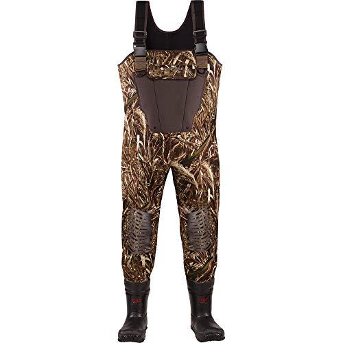 LaCrosse Kid's Mallard II 1000G Insulated Waders, Camouflage, 6 Big Kid M