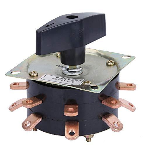 Schakelaar, KDH-40/2-8 8-cijferige elektrische lasmachine Afzonderlijke schakelaar 380V/220V 40A, voor 120, 135, 160, 200, 250 lasmachines