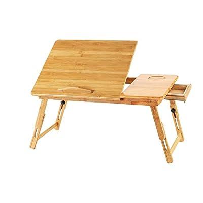 Aimik Laptop Desk for Bed Sofa with Height Adju...