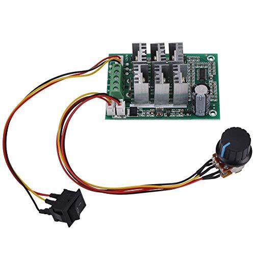DIANLU26 DC 5V-36V 15A 3-Motor sin escobillas SPEED MOTOR  Tablero del controlador del motor del controlador CW CCW Reversión del interruptor de inversión Módulo de control del controlador del motor