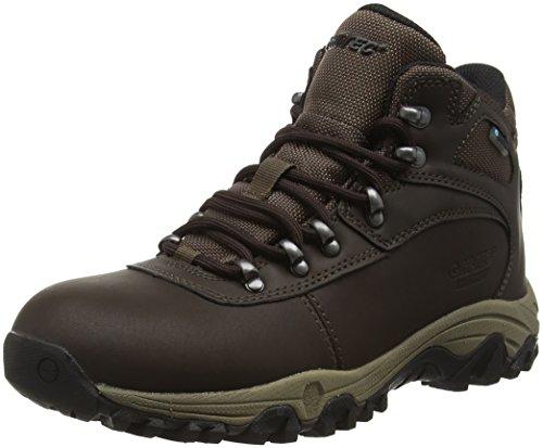 Hi-Tec Cascadia Waterproof Womens, Zapatos de High Rise Senderismo para Mujer, Marrón (Dark Chocolate 041), 40 EU