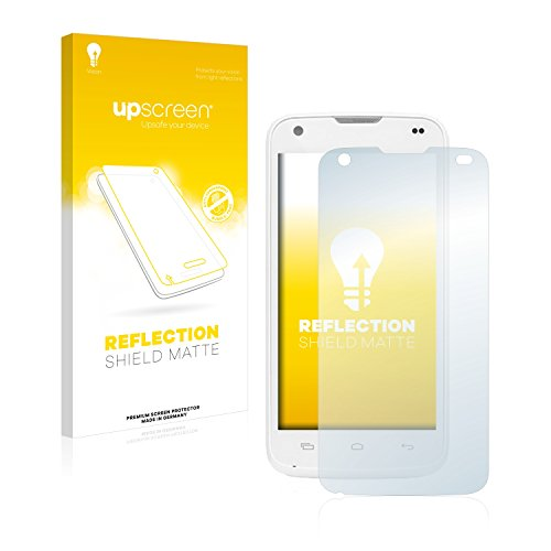 upscreen Entspiegelungs-Schutzfolie kompatibel mit Kazam Th&er 345L – Anti-Reflex Bildschirmschutz-Folie Matt