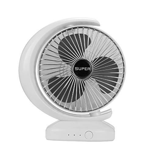 AMTN USB ventilador eléctrico portátil de carga para el hogar ventilador pequeño dormitorio perezoso oficina Plata