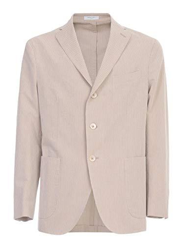 Luxury Fashion | Boglioli Heren N2902EBRC0690230 Beige Katoen Blazers | Lente-zomer 20