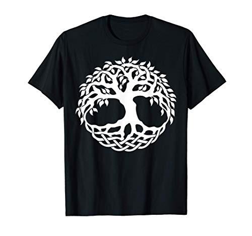Celtic Tree of Life Árbol celta de la camiseta de la vida Camiseta