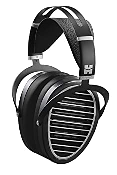 HIFIMAN Ananda Over-Ear Full-Size Planar Magnetic Headphones with High Fidelity Design Easy to Drive by Smartphone Comfortable Earpads Open-Back Detachable Cable-Black