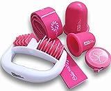 Stephanie Franck Beauty Cellulite Set 3 - ein Massage Roller, zwei Saugglocken S+L ein Fitnessband