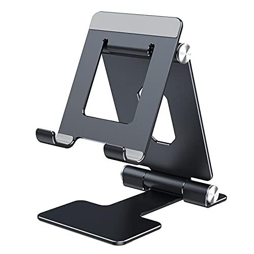 XTONG Soporte para teléfono Celular,Soporte Universal Reforzado Aluminio Plegable Ideal para Mesa...