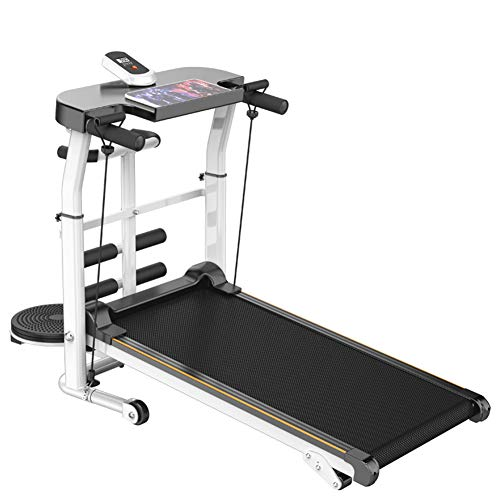 Folding Treadmill Portable Gym Equipment Home Intelligent Electric Fitness Workout Multifunction Household Walking Machine