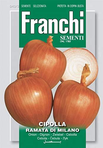 Portal Cool Franchi Semi d'Italia - DBO 43/3 - Cipolla - Ramata di Milano - Semi