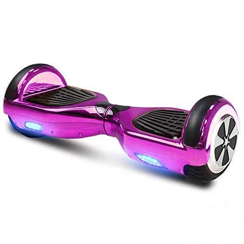 Hoverboard GPX-01-6,5 Zoll Motion V.5 mit App, inkl. Tragetasche, Dual Motor, Bluetooth 4.0, Lautsprecher, Kinder Sicherheitsmodus, Self Elektro Balance Scooter, 600 Watt (Pink Chrome)