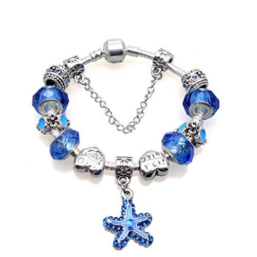 JZHJJ eenvoudige en stijlvolle klassieke paar armband mode vrouwelijke bedelarmband straat stijl diamant druppel glazuur armband armband bevat: armband, armbanden vrouwen, armband streng, armband mannen