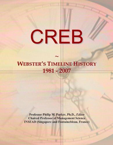 CREB: Webster's Timeline History, 1981 - 2007