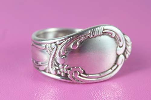 Rokoko Besteck Schmuck Ring, ca. 66 (21,2) Ring aus Besteck