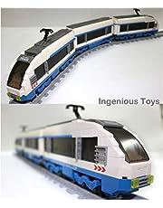 Eléctrico Express Set De Tren / Ciudad Estación De Tren Creator 11pcs Vías #25903