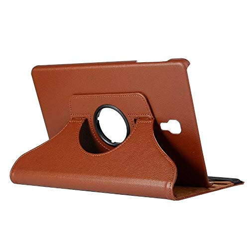 GHC PAD Cases & Covers For Samsung Galaxy Tab S4 10.5 2018 SM-T830 T835, 360 Rotating Case Stand PU Leather Cover For Samsung T830 T835 (Color : Brown)
