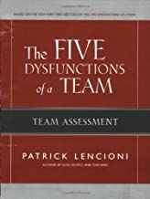 The Five Dysfunctions of a Team: Team Assessment