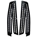 Titan Ramps Folding Arch Ramps 10' Pair 1,200 lb. Capacity Safety Straps