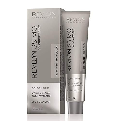 REVLON PROFESSIONAL Revlonissimo Colorsmetique Color&Care Permanente Haarfarbe, 4 Mittelbraun, 1er Pack (1 x 60 ml)