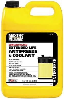 Master Mechanic MM GAL Max 61% OFF Antifreeze Milwaukee Mall EXT
