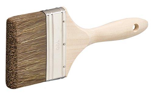 Colorus Profi Flachpinsel Malerpinsel Farbpinsel Lasur Lasurpinsel Holzölpinsel 100mm
