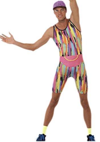 erdbeerloft - Herren Karnevalskomplett Kostüm Mr Energizer , M, Mehrfarbig