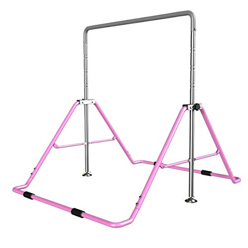 Fantastic Deal! Indoor Children Horizontal Bars Adjustable Household Muscle Strength Pull-up Bars Po...