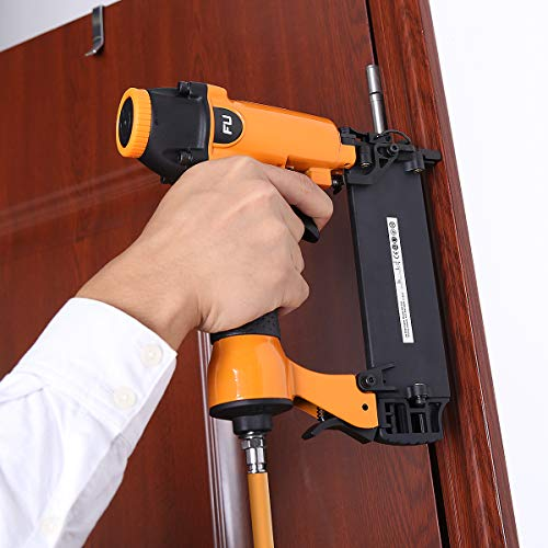 FLOUREON® Pistolet à Clou Pneumatique/Cloueuse pneumatique 15mm-50mm type F50 pour Travail du bois Meuble Toit Bricolage etc