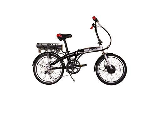 Swifty Liberte Black Electric Folding Bike