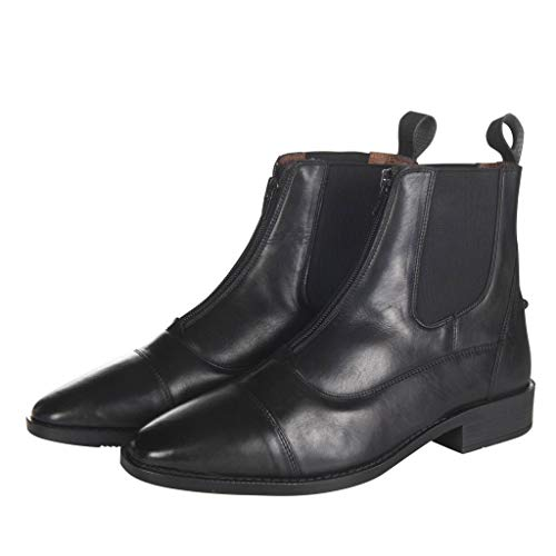 HKM Erwachsene Damen-Jodhpurstiefel-Oregon-9100 schwarz39 Hose, 9100 schwarz, 39