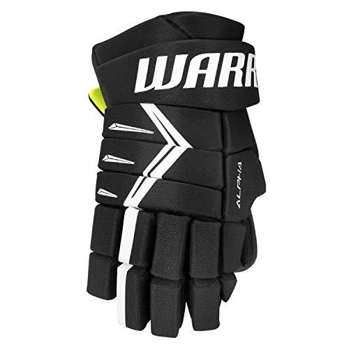 Warrior Alpha DX5 Handschuhe Junior, Größe:12 Zoll, Farbe:schwarz