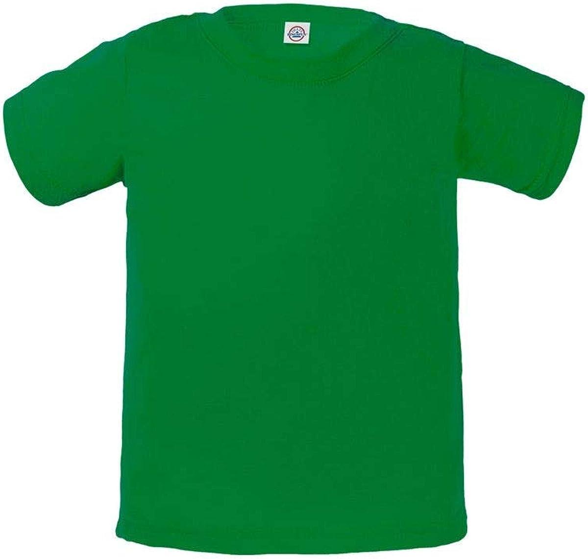 Delta Apparel Infant Baby Plain Basic 30/1's Ringspun Short Sleeve T-Shirt