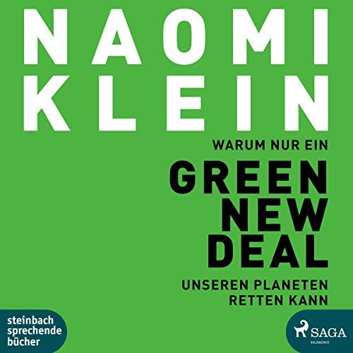 Warum nur ein Green New Deal unseren Planeten retten kann cover art
