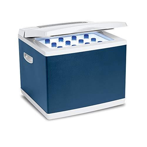 Mobicool MB40, Hybrid, tragbare Kompressor- thermoelektrische-Kühlbox/Gefrierbox, 38 Liter, 12 V und 230 V für Auto, Lkw, Steckdose