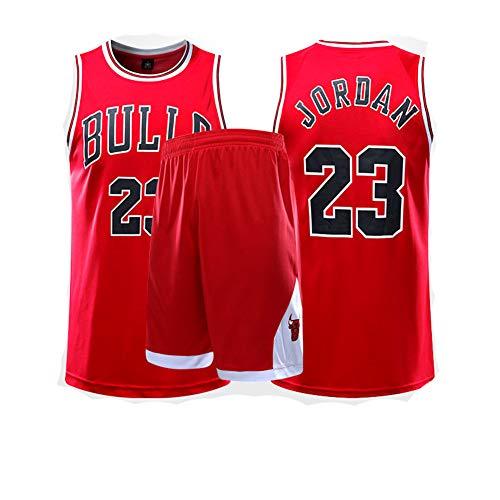 Fei Fei Chicago Bulls #23 Michael Jordan Camiseta de Baloncesto para Hombres...