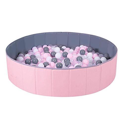 Kinderen ballenbak, opvouwbaar ballenbad, draagbare Oxford ronde ballenbak Perfect cadeau voor binnen Buiten Kinderen Peuter Zuigeling jongens Meisjes-ballen niet inbegrepen