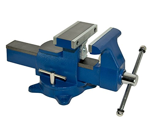 """Yost Vises 865-DI 6.5"""" Heavy Duty Reversible Bench Vise Made in..."""