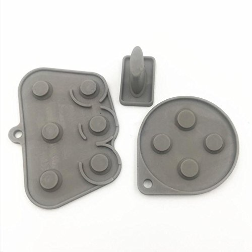 Zhhlinyuan Replacement USB Silicone Pad Buttons Kit fur Seg Saturn SS Controller 4740#