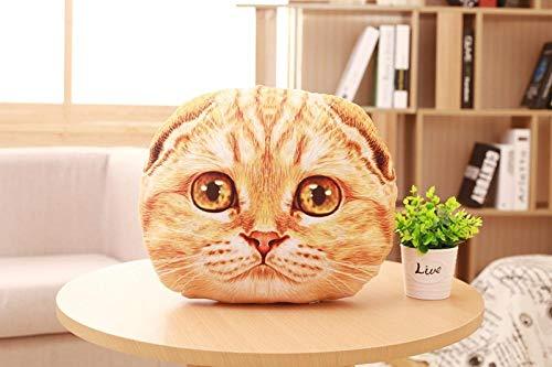 upupupup Giocattoli di pezza personalità Creativa Cat Cuscino Cometa Simpatico Cartone Animato Marea Cuscino Peluche Divano @Giallo Giallo Eyes_50Cm
