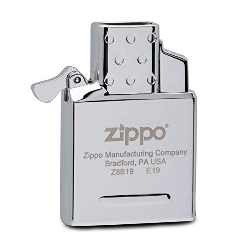 Zippo 18795 Butane Lighter Insert-Double Torch-Empty Gaseinsatz-2006816, Stahl