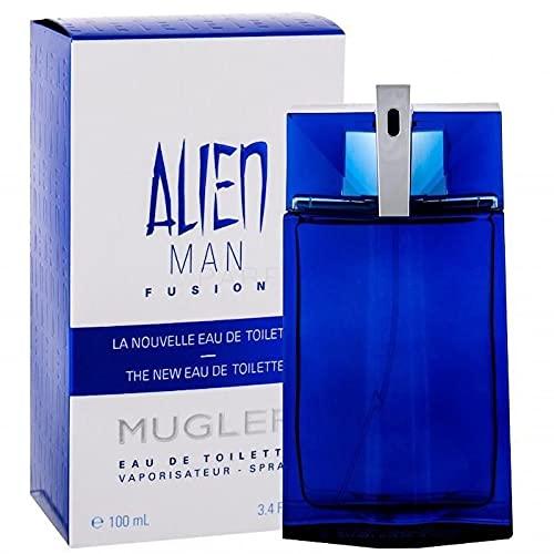 Thierry Mugler Thiery Mugler Alien Man Fusion 100 mL Eau de Toilette Spray, Herrenparfum