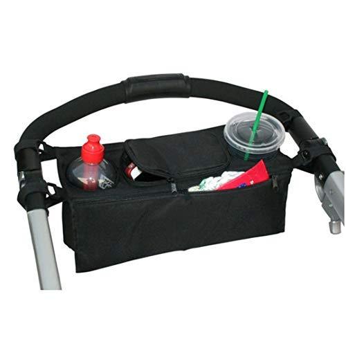 Underleaf Universale Kinderwagentasche Organizer Hänge Tasche mit1 Schulterriemen,Unverzichtbares Kinderwagen-Zubehör