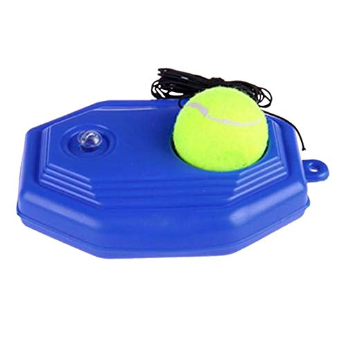 N/D Tennis Self-Study Device, Trainer Rebound Ball, Self Practice Tennis Training Tool, Tennis Training Tools for Kids Adults Beginners