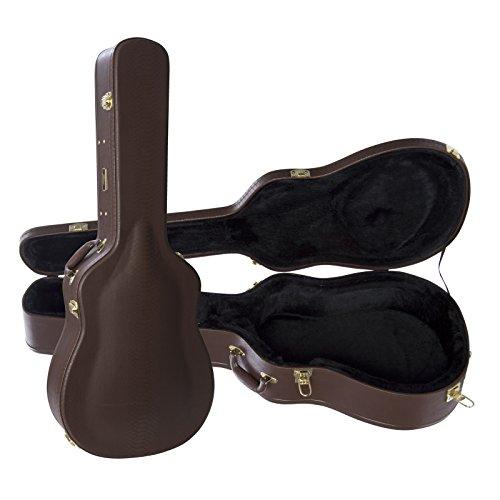 Case Dreadnought Guitar Dark Brown