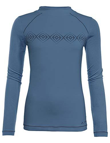 VAUDE Skomer LS T-Shirt Femme Tempest FR : XL (Taille Fabricant : 44)